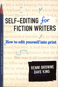 Self editing for fiction writers cover