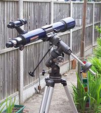 Lidl supermarket telescope